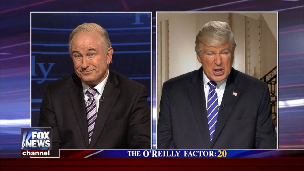 VIDEO: O'Reilly, Trump Become Butt of SNL's Jokes