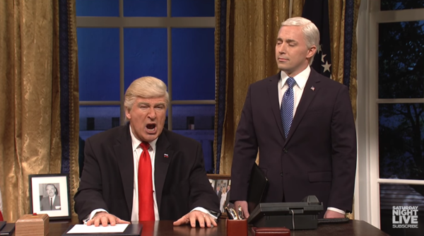 Alec Baldwin Calls For Trump's 'Overthrow'