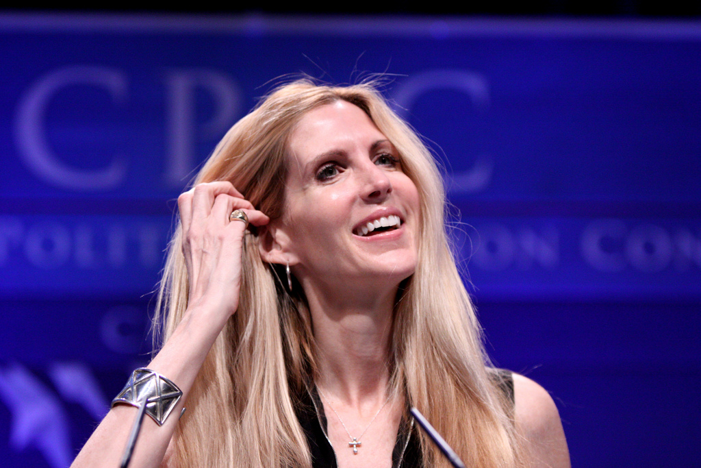 Ann Coulter Just Bailed on the Trump Train
