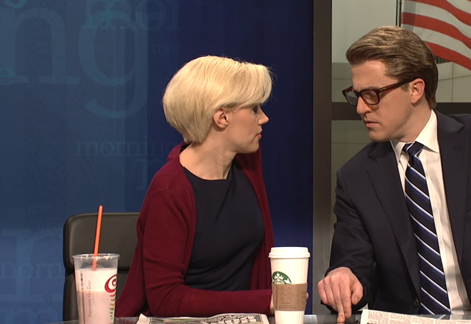 Watch: SNL Skewers MSNBC Hosts' Long-Rumored Relationship