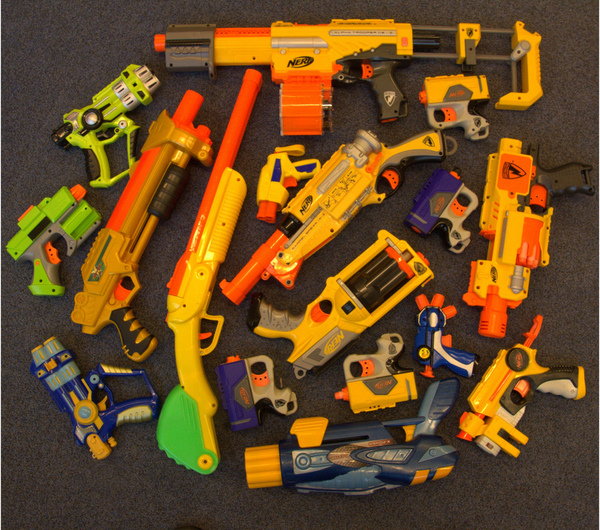 The Actress That Wants to Take Away Every Kid's Toy Gun