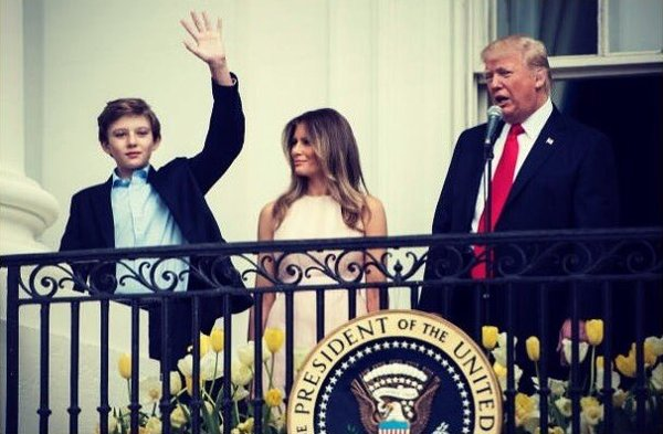 Hollywood Director Tweets Disgusting Image Preying on Barron Trump
