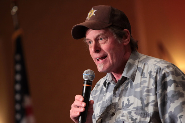 How Ted Nugent Plans to Single-Handedly 'Stop Hateful Rhetoric'