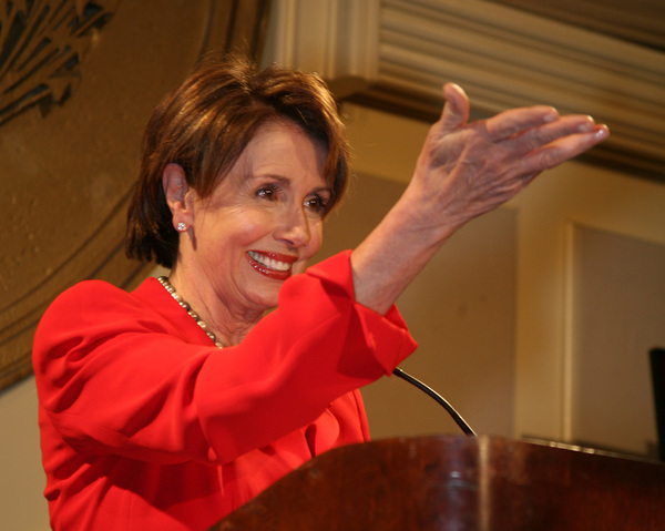 Nancy Pelosi Picks Up a Weird Side Gig