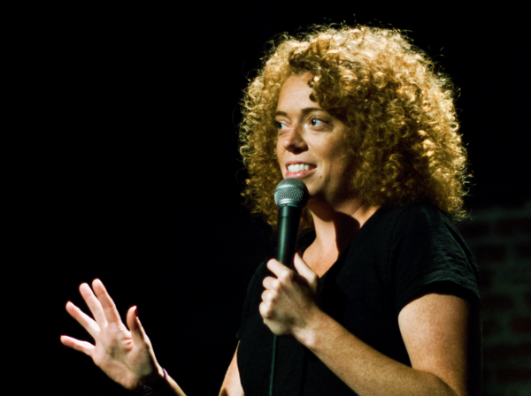 Michelle Wolf Actually Thinks Sarah Sanders Liked Her Jokes
