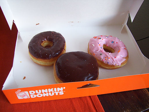 Dunkin' Donut's Employee's Sweet Gesture Captured on Video