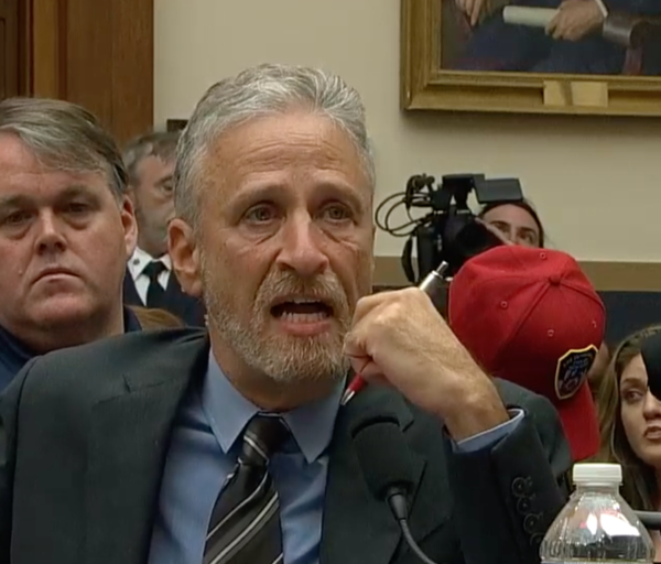 Jon Stewart Accuses GOP Senator Of Turning Back On 9/11 Heroes