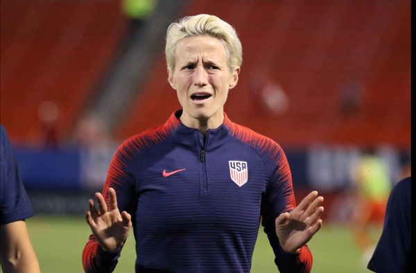 Anti-Trump Soccer Star Megan Rapinoe Declares 'War' After Olympics Ban Political Speech