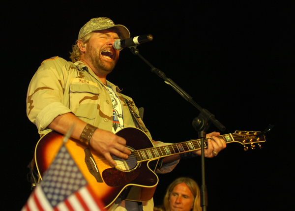 #1: 'Courtesy of the Red White & Blue' by Toby Keith.