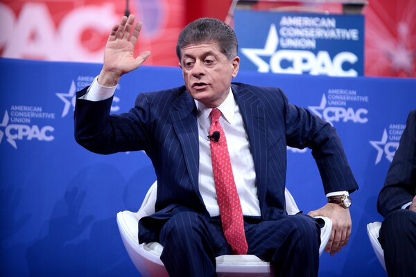 Fox Analyst Judge Napolitano Claims Evidence For Impeachment Is 'Overwhelming'